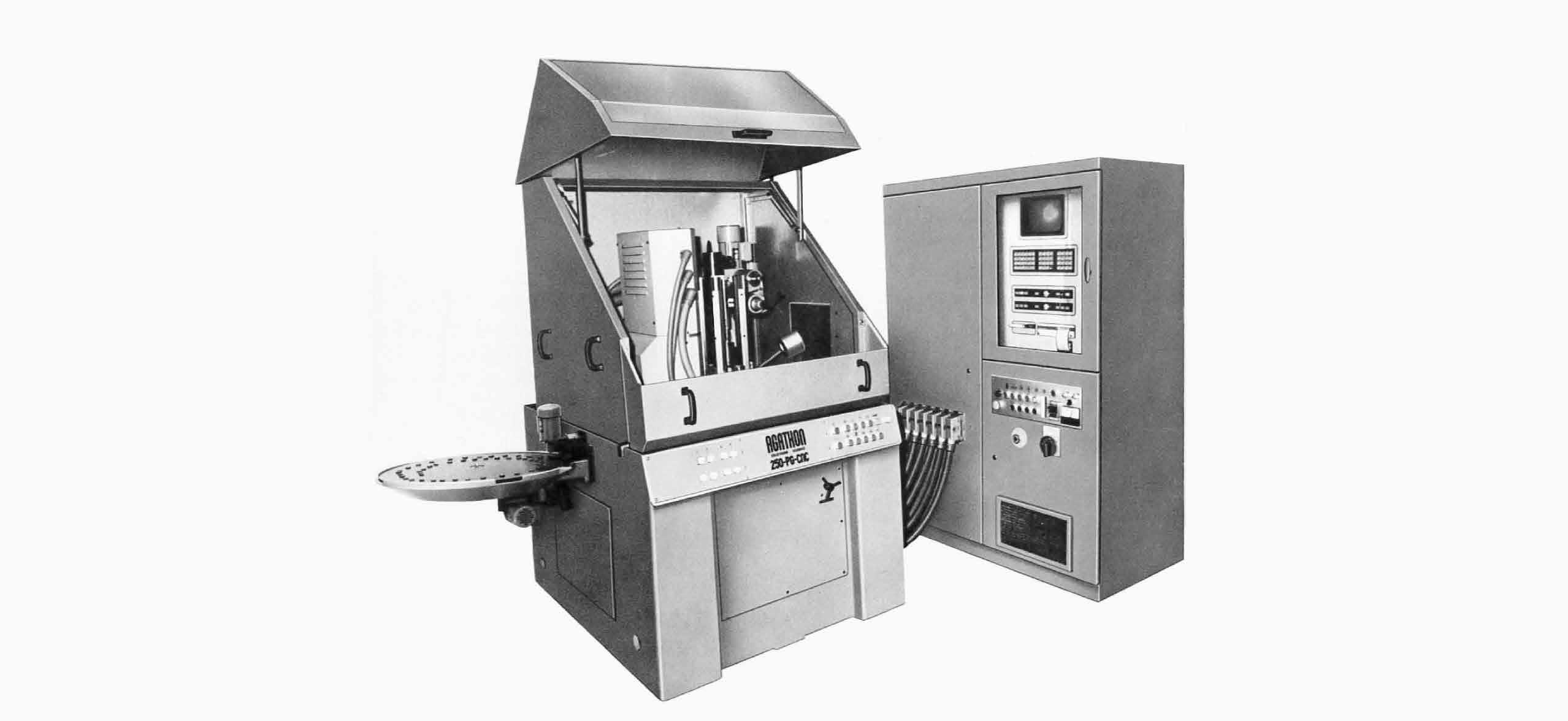4-Achsen-Profilschleifmaschine